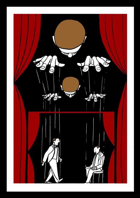 Trama y personaje. Ilustración de Marta Gómez-Pintado
