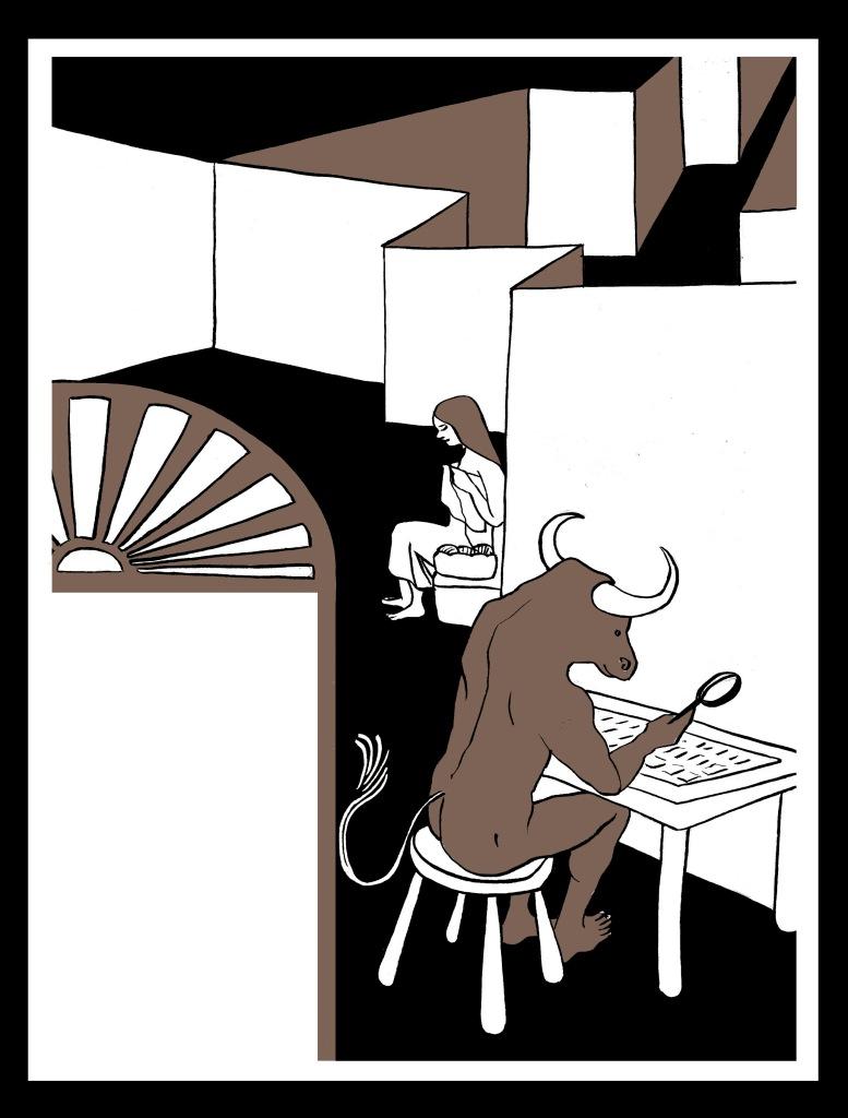 Casa tomada, de Julio Cortázar. Ilustración de Marta Gómez-Pintado