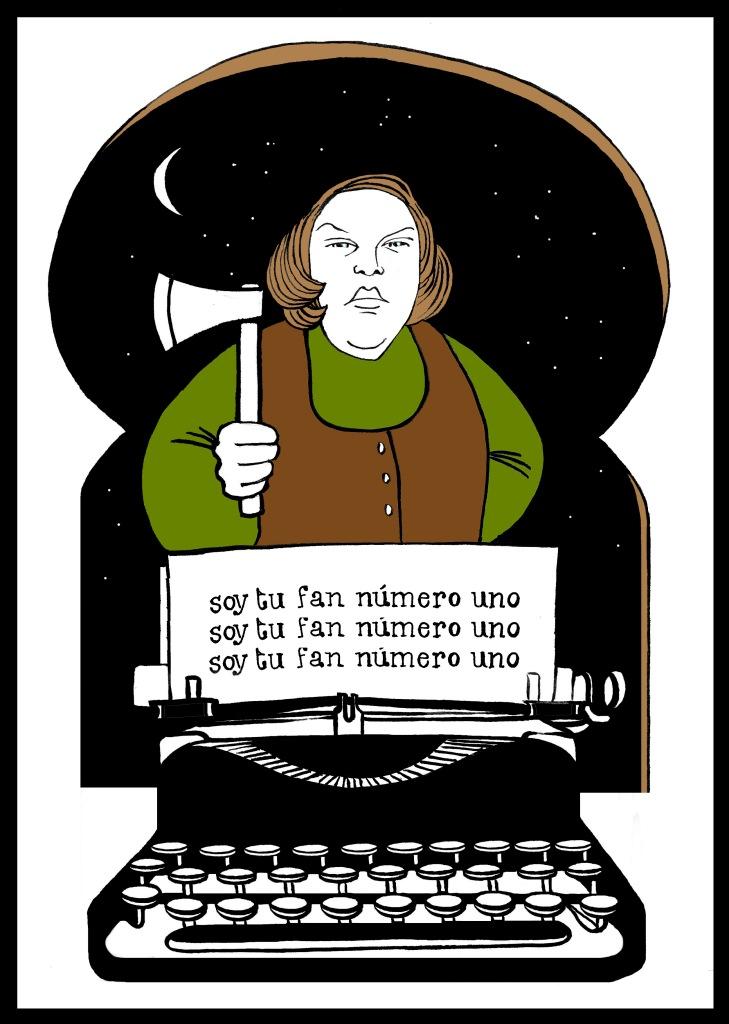 Misery, de Stephen King. Ilustración de Marta Gómez-Pintado