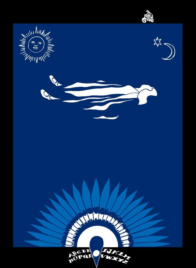 Ouija. Ilustración de Marta Gómez-Pintado