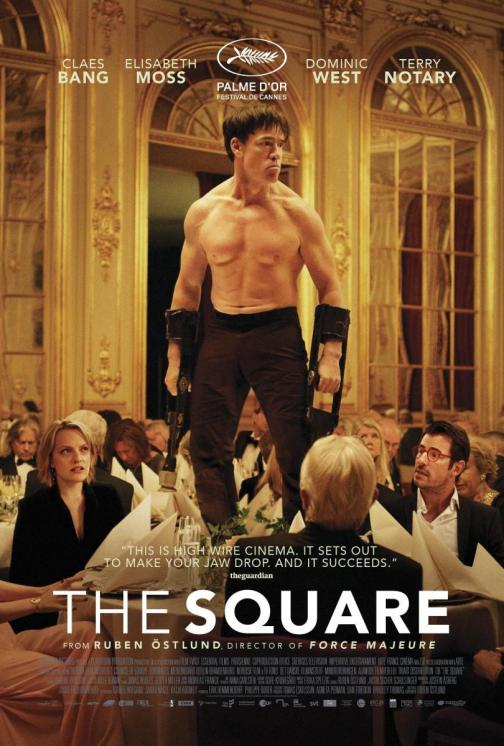 The square. Cartel de la película.