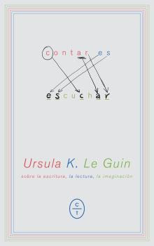"""Portada de """"Contar es escuchar"""", de Ursula K. Le Guin"""
