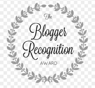 Logo de The blogger recognition award