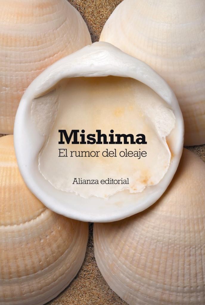 "Portada de ""El rumor del oleaje"", de Yukio Mishima"