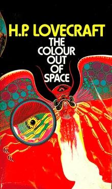 "Portada de ""The colour out of space"", de H. P.Lovecraft"